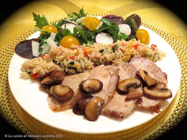 Rôti de porc au four, façon asiatique