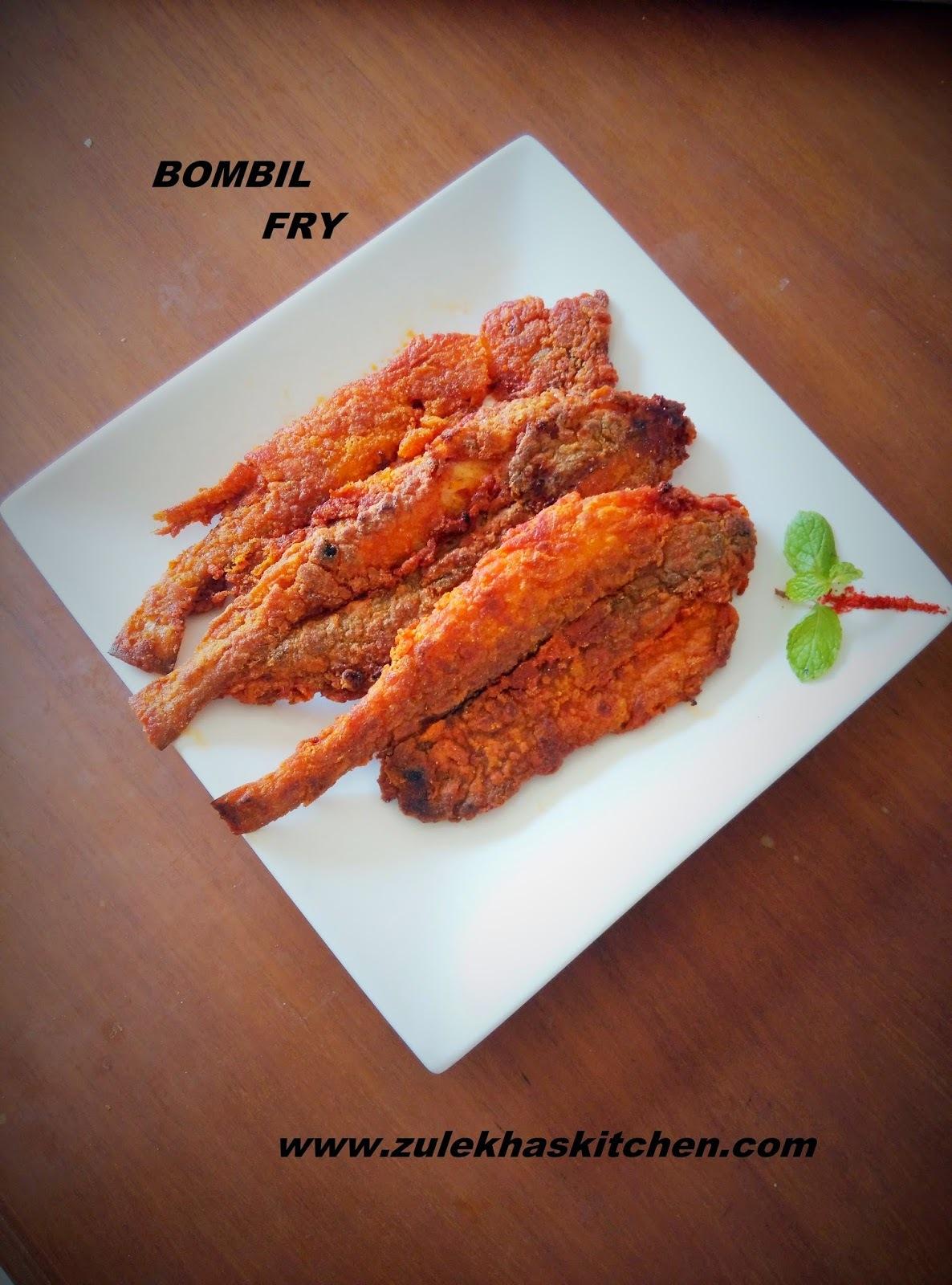 Recipe Of Crispy Bombil fry | Bombay Duck fry