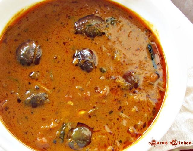 Ennai kathirikai Kuzhambu/ Eggplant gravy