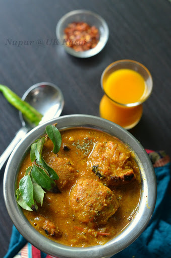 Chettinad Pakora Curry : Pakoda Kozhambu