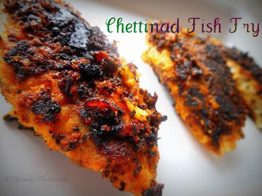 Chettinad Fish Fry - Chettinad meen varuval