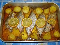de peixe meca ao forno