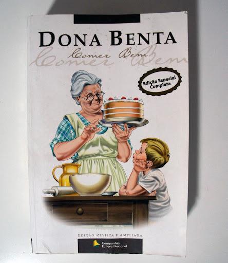 """Livro para ter: """"Dona Benta: Comer Bem"""""""