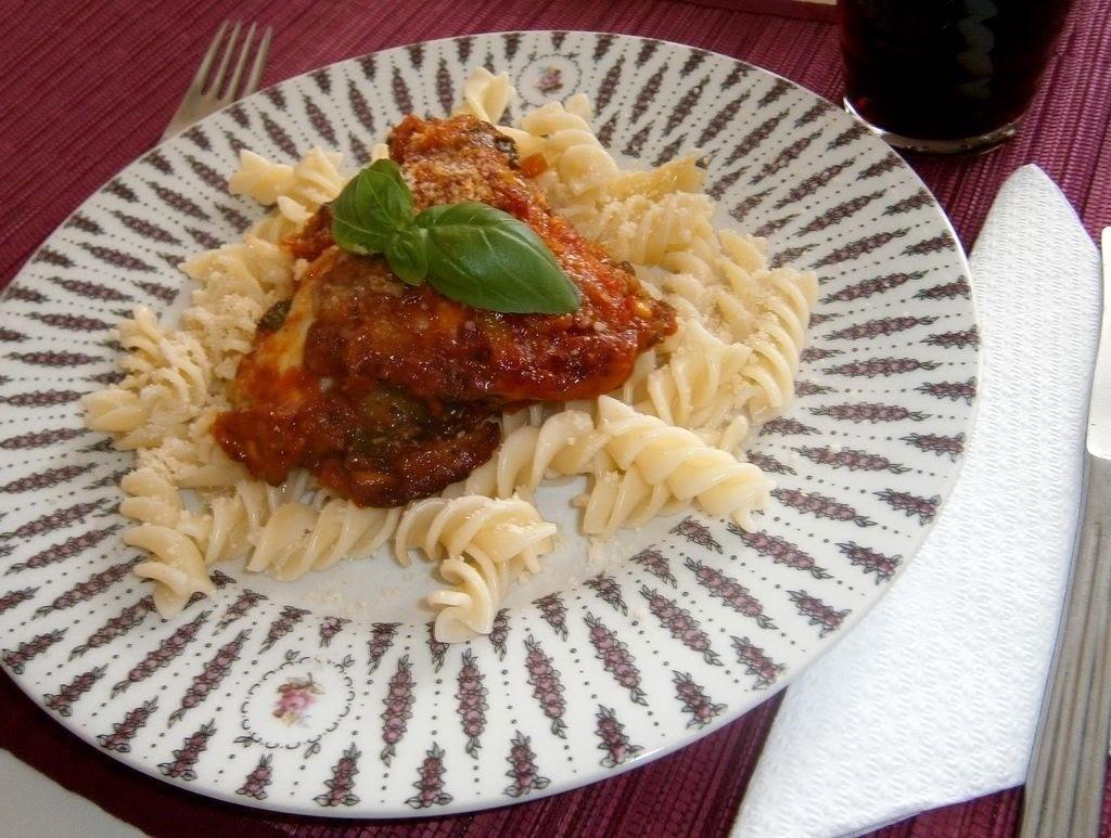 Parmský zapekaný baklažán (Melanzane alla parmigiana)