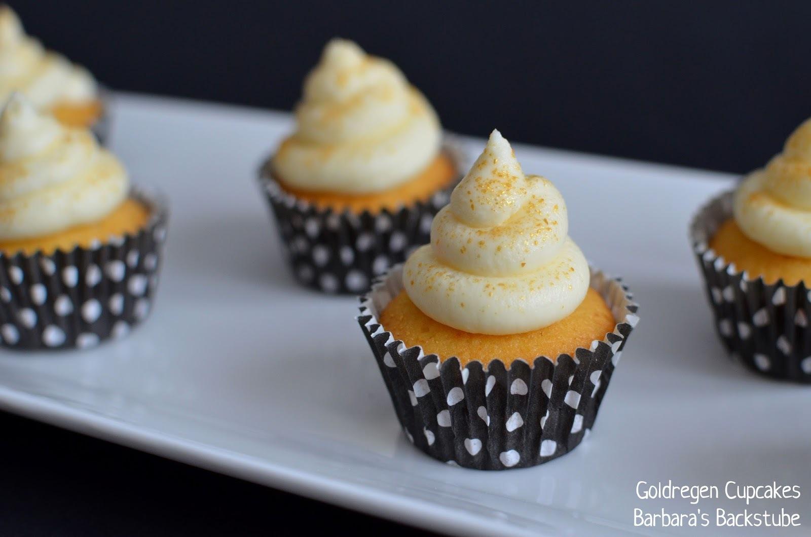 süss-saure Goldregen Cupcakes - und: Sirup zu gewinnen!