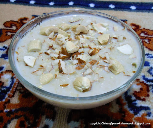 Thinai Paal Payasam