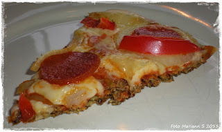 pizza med bakepulver