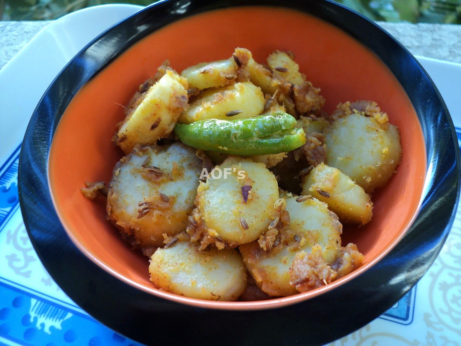 Spicy Sweet Potatoes (Chatpati Shakarkandi)