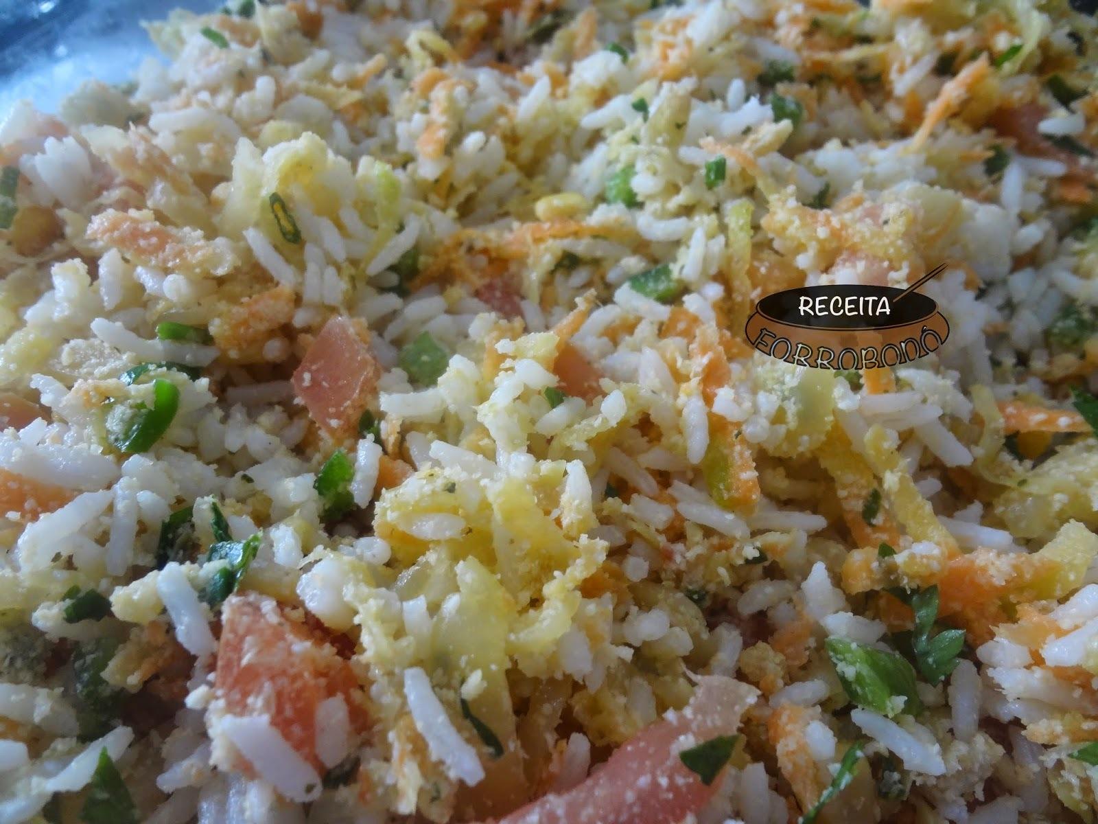 qual tipo de arroz para servir no churrasco