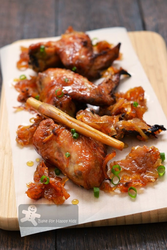 Orange and Ginger Caramelised Chicken Wings (Gordon Ramsay)