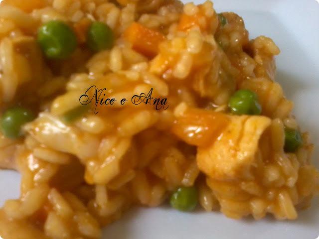 risoto de arroz com frango arroz do dia seguinte