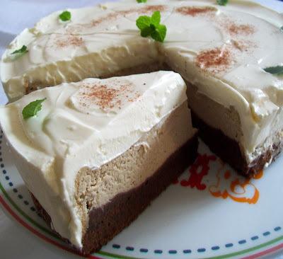 Brownies-cheesecake kavovy alebo cosi na ten sposob