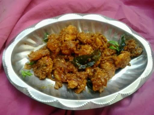 Andhra style Prawns Fry |Andhra royyala Vepudu