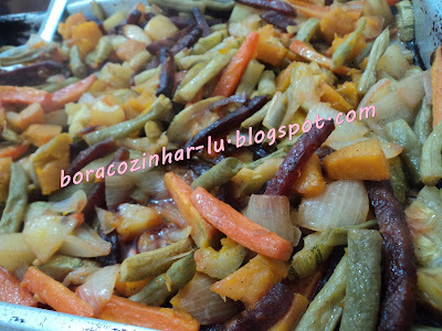 Legumes ao Forno