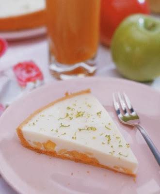 Torta de Frutas e Iogurte