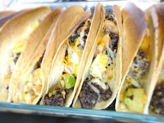 Tacos mexicanos con Morcilla de Burgos RIOS