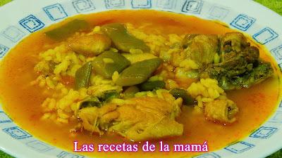Receta fácil  de arroz caldoso con pato.