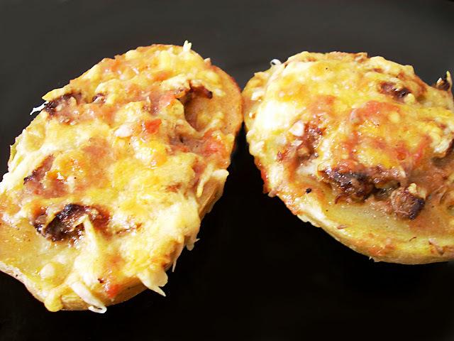 Patatas Rellenas de Carne al Sabor Ariosto