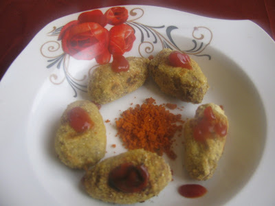 Black Chickpeas Tikki