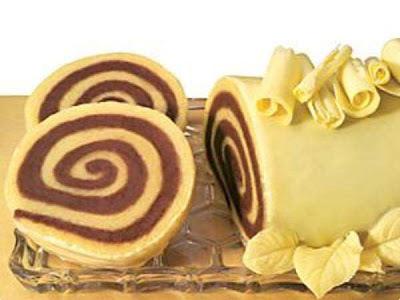 Rocambole Bicolor de Chocolate