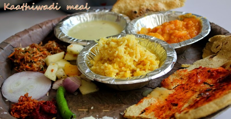 Gujrati Kaathiwadi Meal