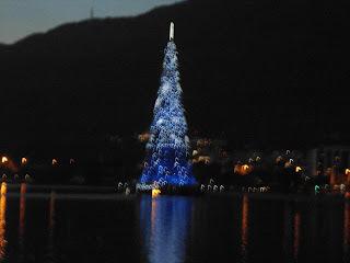 Árvore de Natal da Lagoa  2012 By Betechef e Família