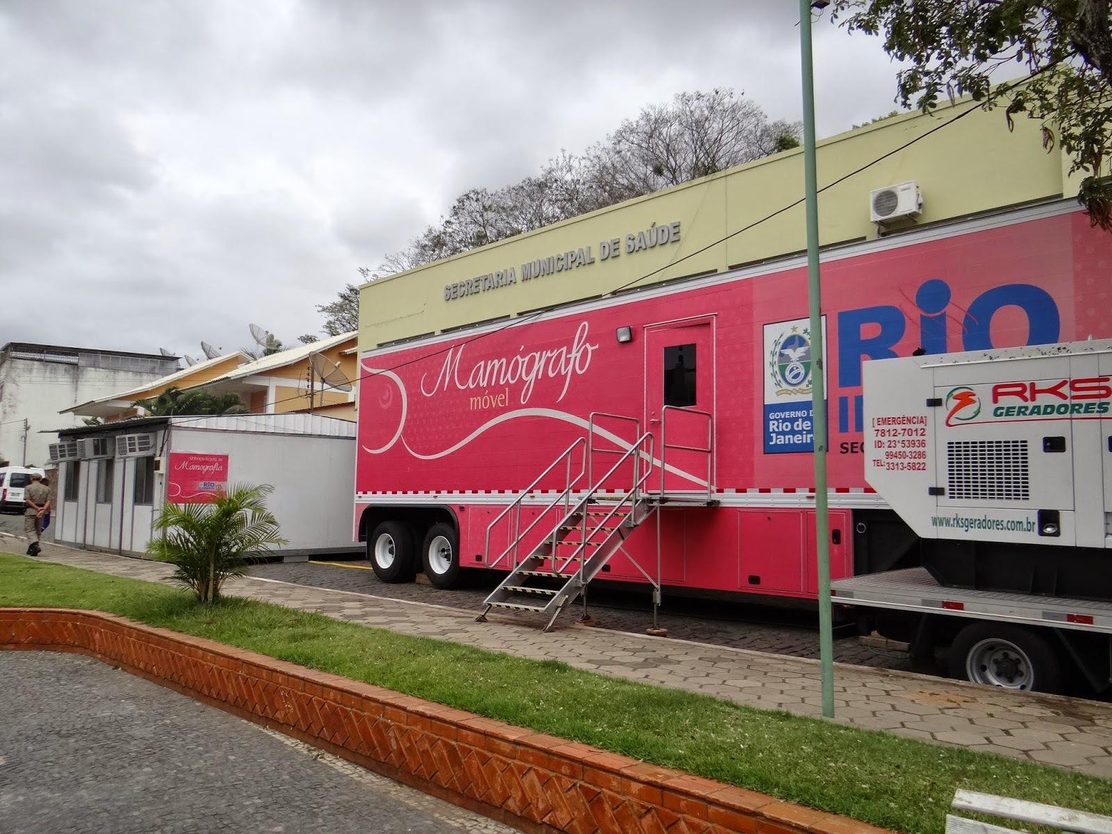 Secretaria de Saúde inaugura mamógrafo móvel em Bom Jesus