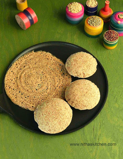 Homemade Whole Grain Idli Dosa Batter | Pearl | Finger Millets | Jowar | Wheat | Brown Rice Combo