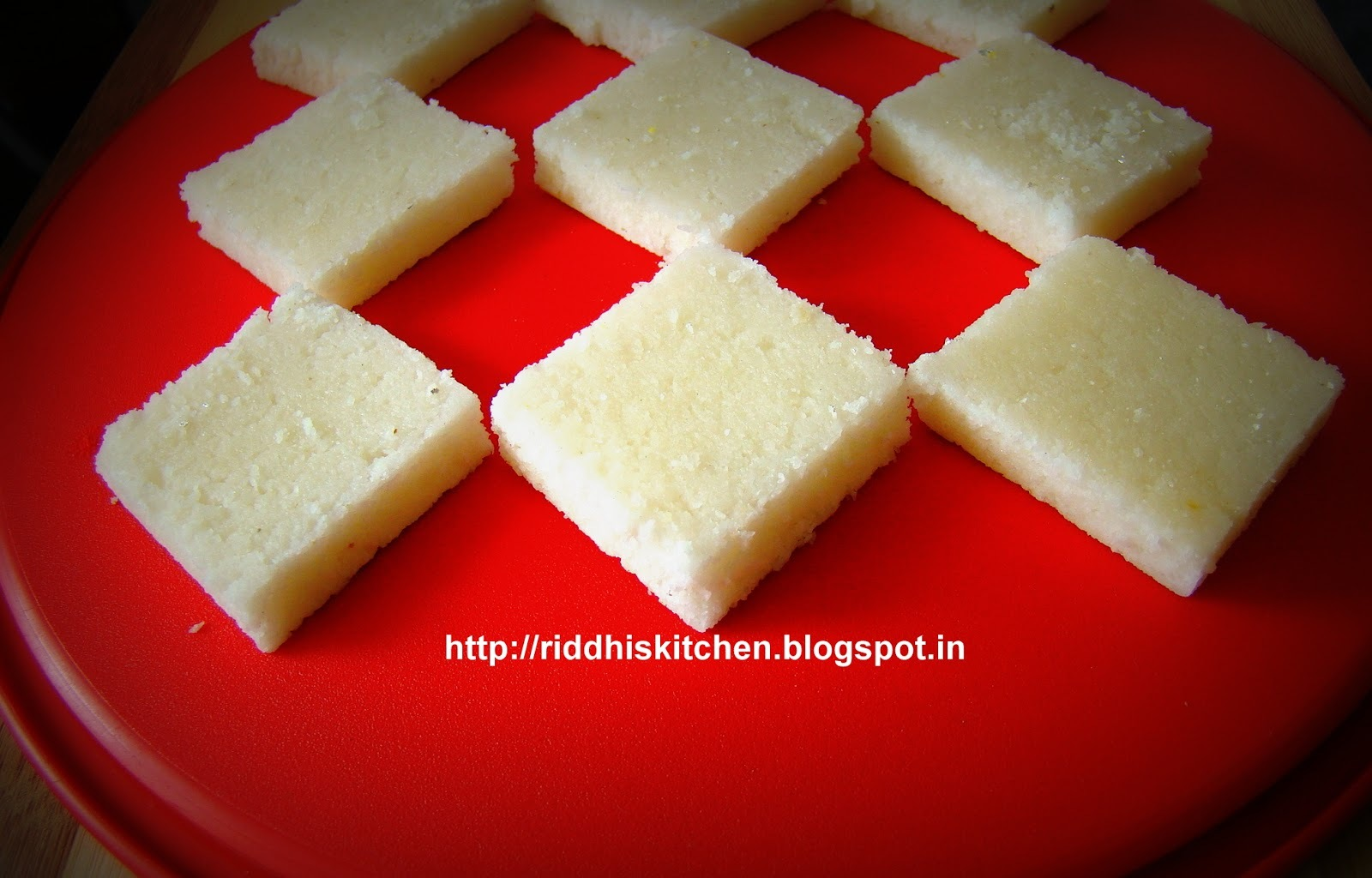 Fresh Nariyal Ki Barfi