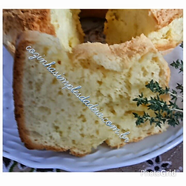 bolo de pão de queijo de liquidificador polvilho azedo
