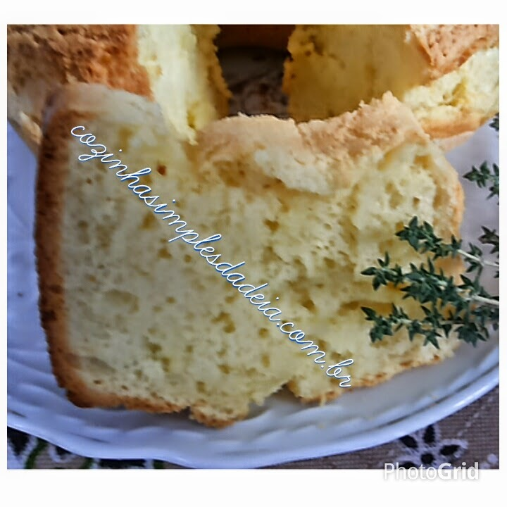 Bolo Pão de Queijo de liquidificador