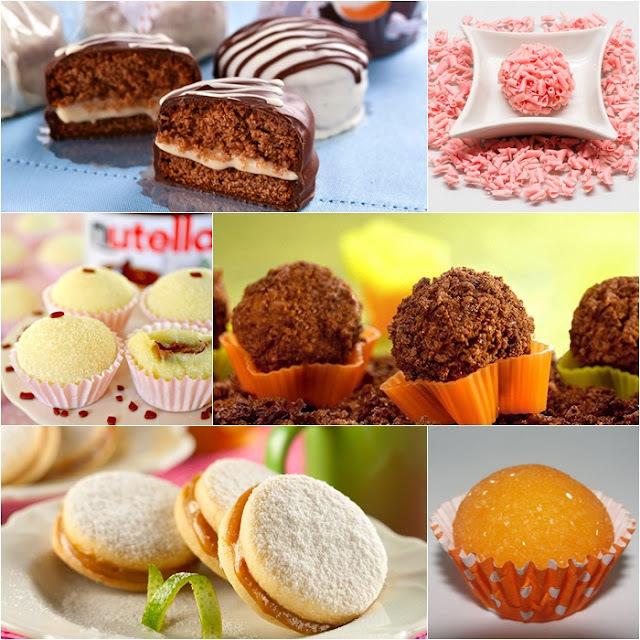 10 receitas de doces especiais para sua festa
