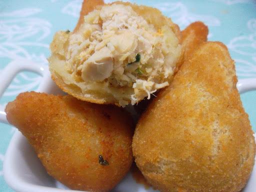 coxinha de batata da pão de batata