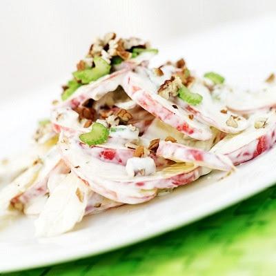 Receta de ensalada waldorf original y muy facil