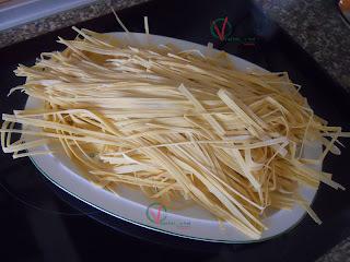 Pasta fresca casera (espaguetis)