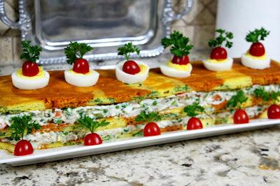 """Slana torta  """" Ruska salata """""""