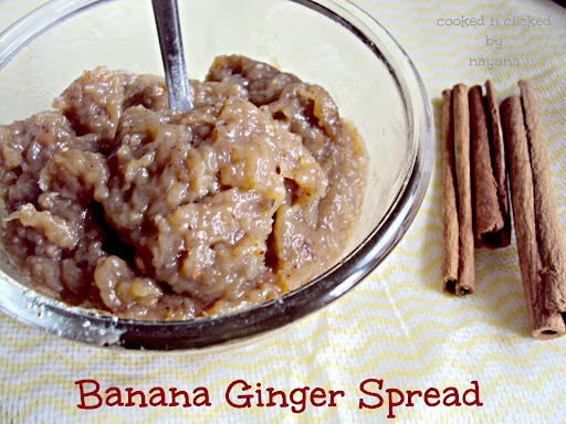 Banana Ginger Spread