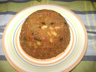 Raisins Pudding (Traditional Fare)