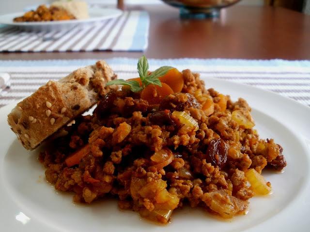 Carne Molida (picada) con Verduras
