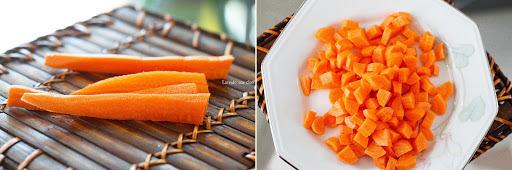 Farofinha de cenoura
