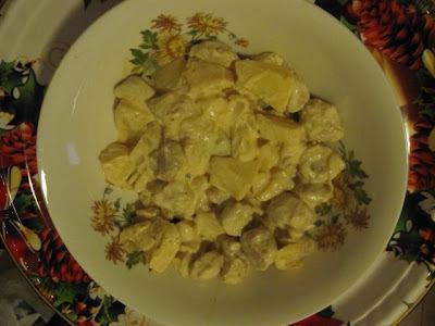 de soja granulada com legumes