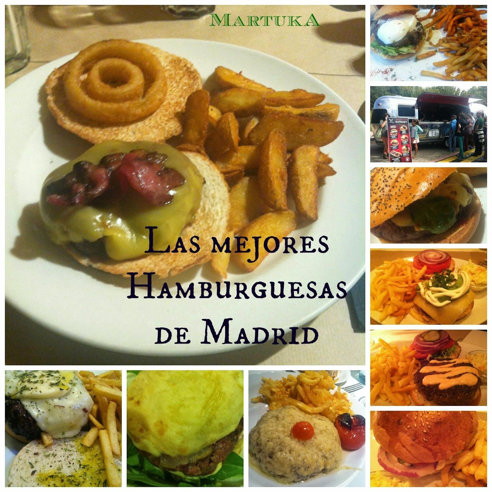 Las Mejores Hamburguesas De Madrid (Y Una De París)