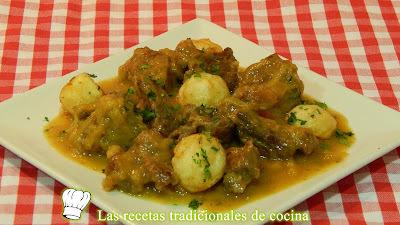 Ternera en salsa de cebolla receta fácil
