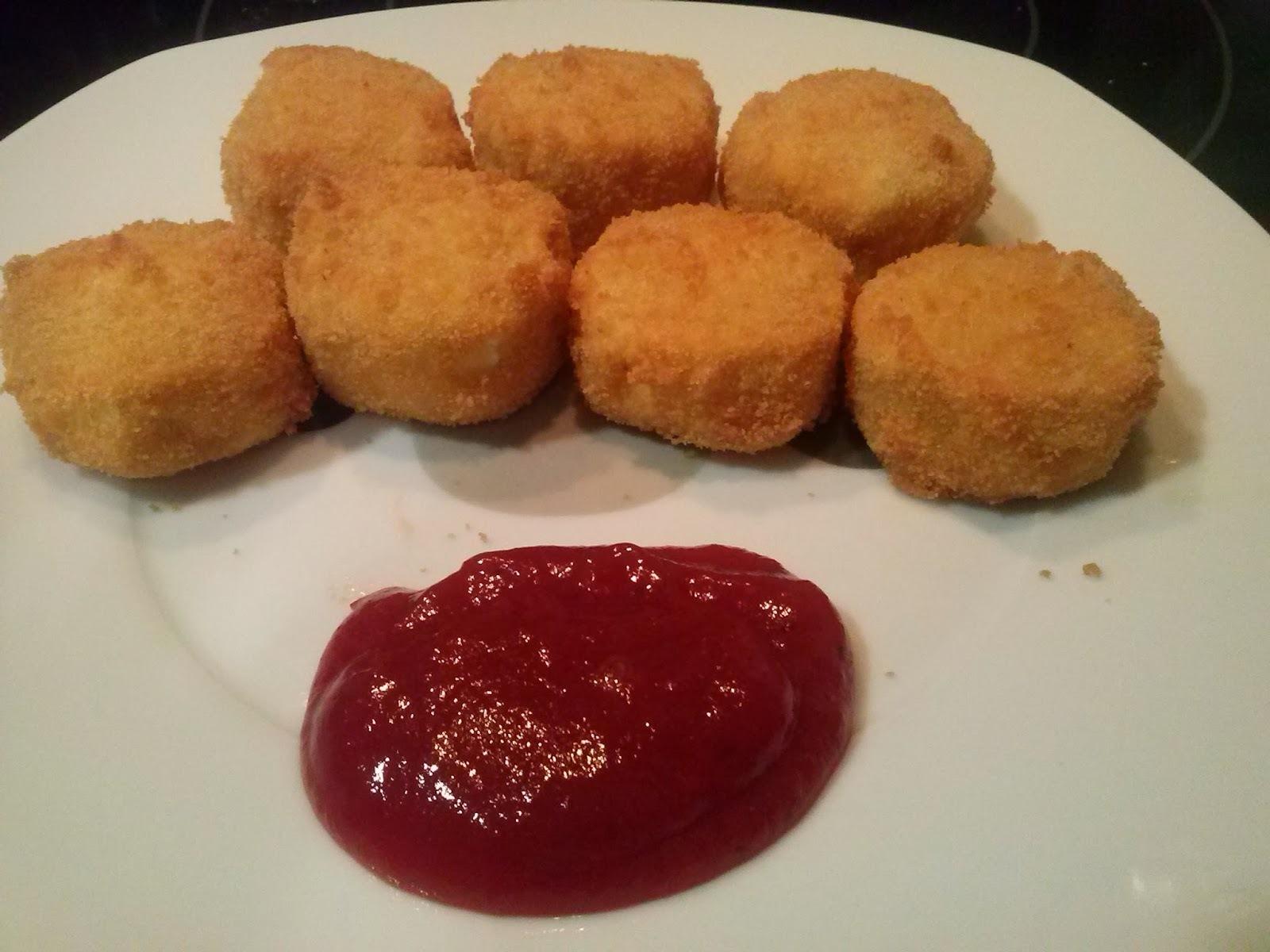Queso frito con mermelada de tomate