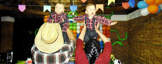 Arraiá - A Festa dos Gêmeos João Pedro e Miguel