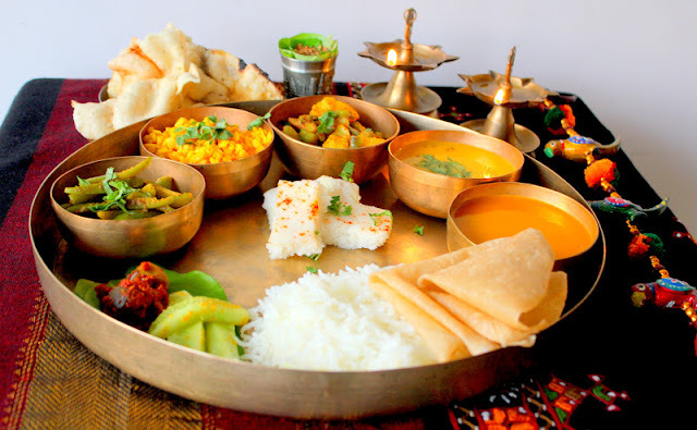 Seasonal Gujrati Thaali