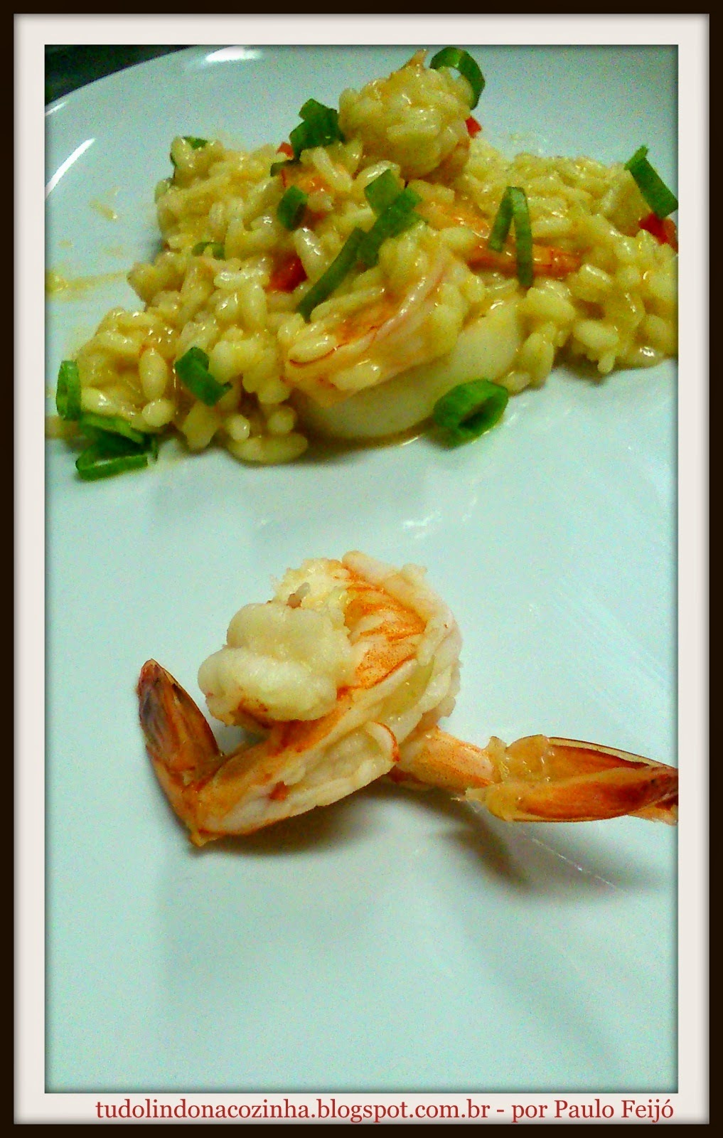 Risoto de Frutos do Mar...huuuum!