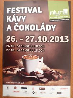 Festival kávy a čokolády v Nitre, 26. - 27. 10. 2013 :-)