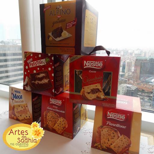 Nova linha de Panettones Nestlé e novo sorvete sabores Exclusivos
