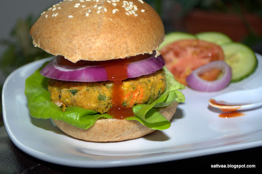 Veggie Burger - Ready in 45 minutes